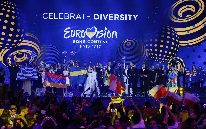 ВКиеве начался 1-ый полуфинал «Евровидения-2017»