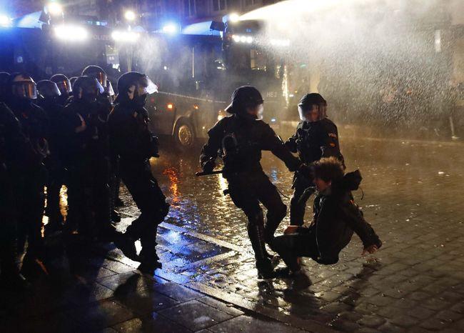 ВГамбурге задержали 288 человек из-за протестов