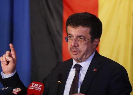 Австрія заборонила в'їзд міністру економіки Туреччини