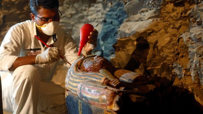 В Єгипті знайшли гробницю скарбника фараонів