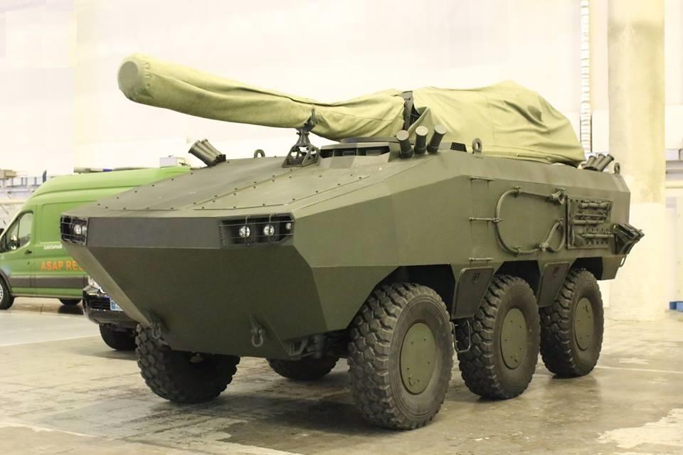 Вгосударстве Украина создали новый бронетранспортер «Атаман 6х6»