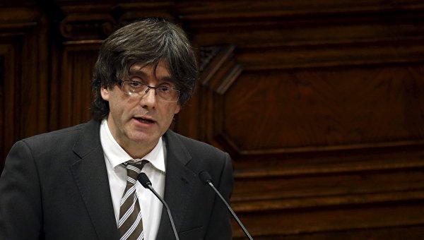 Каталонийн удирдагч асны цахим хуудсыг хаажээ
