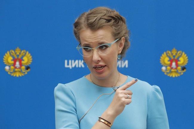 Кандидат упрезидентиРФ відповіла Клімкіну назвинувачення у«політичній шизофренії»