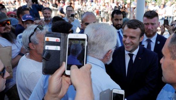 ВоФранции началось голосование впервом туре парламентских выборов