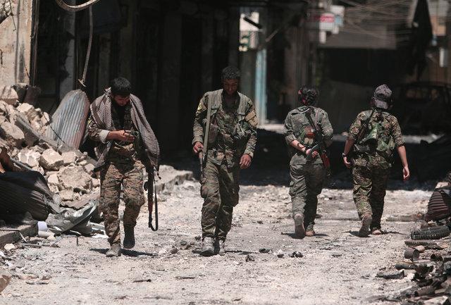 Спецназ США вместе скурдами ликвидировал одного изглаварей ИГИЛ