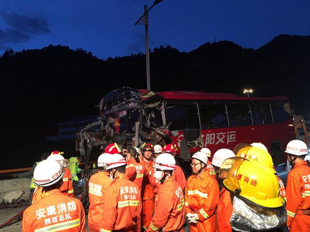 УКитаї 36 людей загинули вмасштабній ДТП
