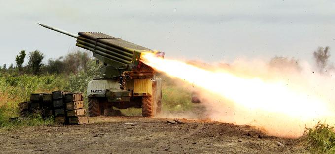 Боевики перебросили 28 установок Град к линии фронта - разведка