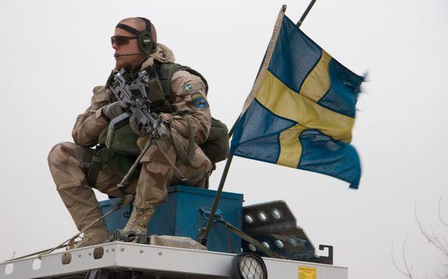 ВШвеции начинаются небывало большие военные маневры