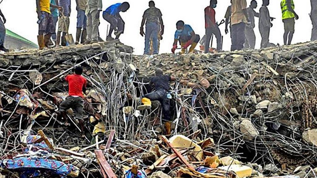 60 человек погибли в итоге обрушения церкви вНигерии