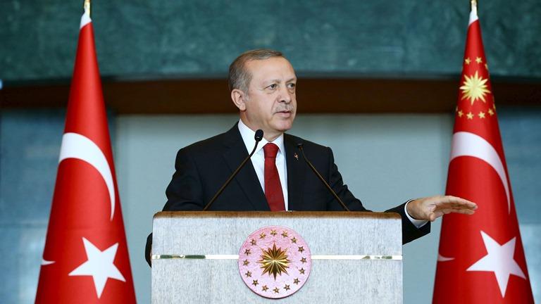 Ердоган: РФзбирається побудувати вСирії нову державу
