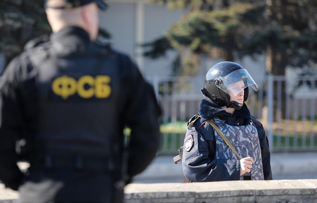 ВСимферополе задержали гражданина Украины зашпионаж
