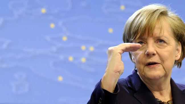 Путин поведал , что время отвремени  получает вподарок пиво отМеркель
