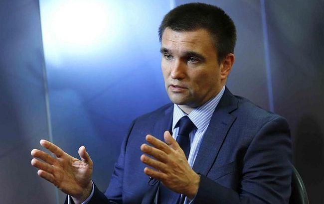 Клімкін: Україна розробить систему контролю потоку росіян через кордон
