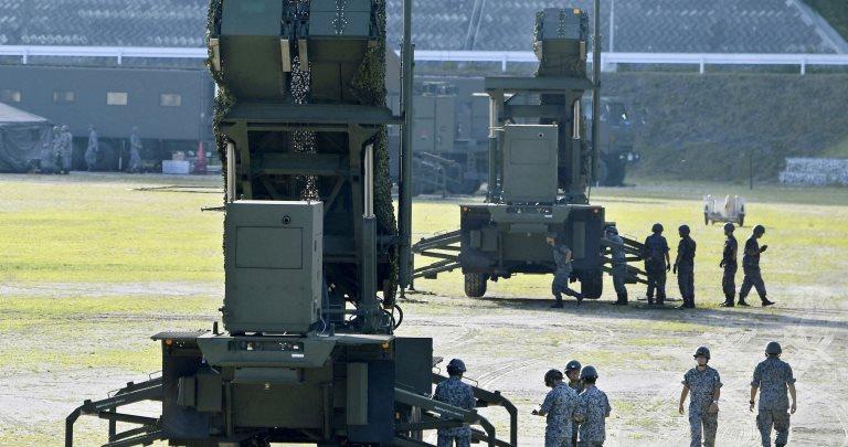 Японія розгорнула протиракетні комплекси Patriot навипадок атаки КНДР