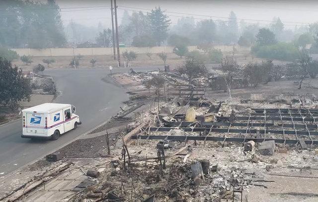 Число жертв масштабного пожара в Калифорнии возросло до 20