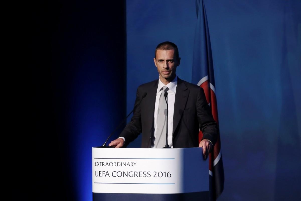 Гройсман ипрезидент УЕФА обсудили вопросы проведения вКиеве финала Лиги чемпионов