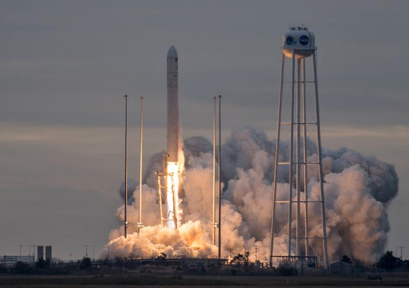 Зкосмодрому США успішно запустили ракетоносій Antares, створений вУкраїні