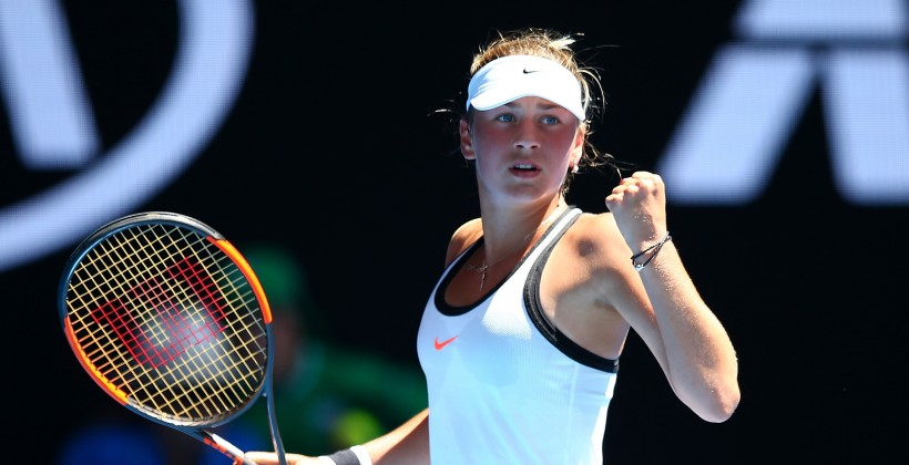 Australian Open. Калинская вышла вфинал квалификации