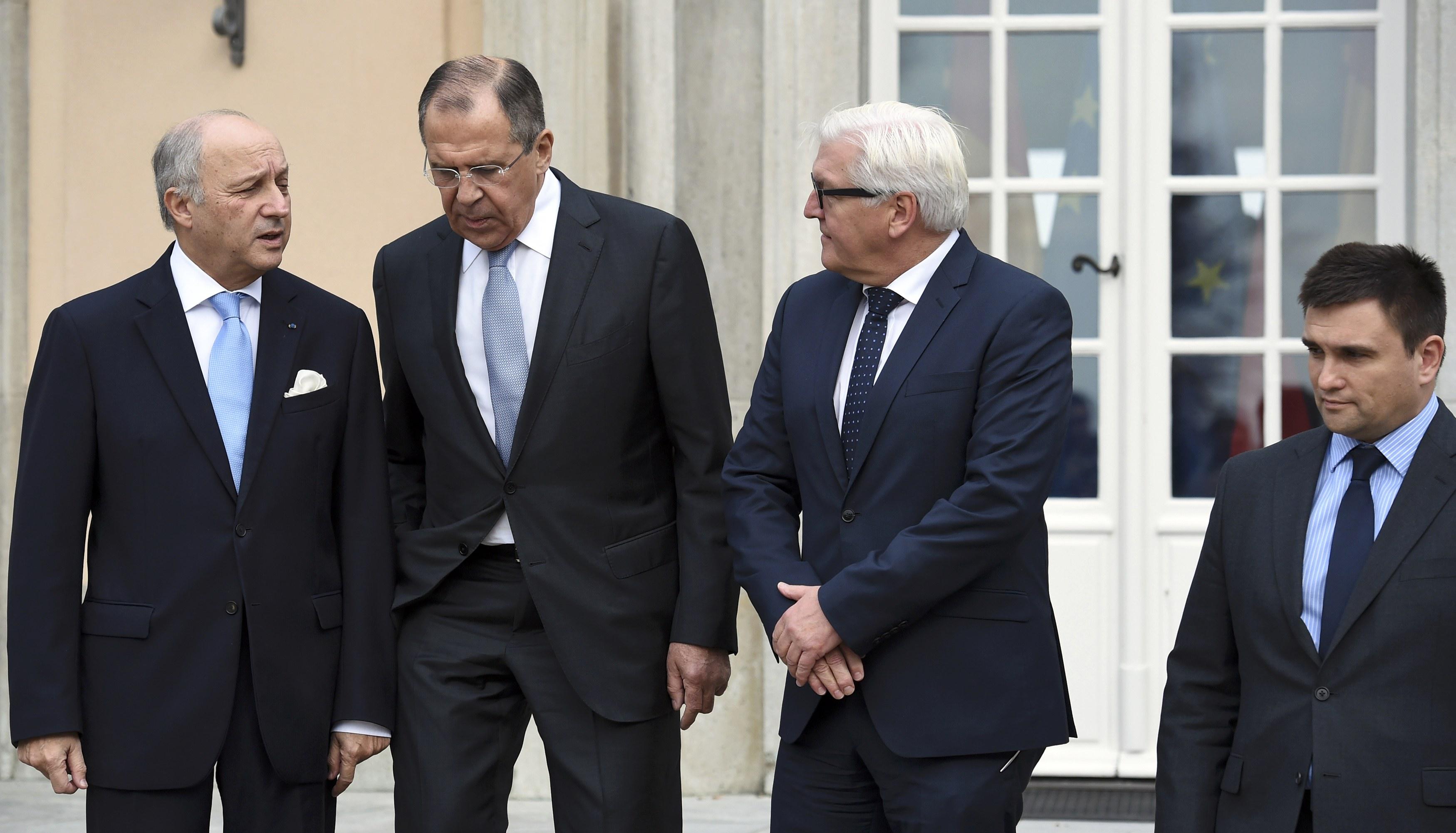 """Штайнмайер: Переговоры глав МИД стран """"Нормандской четверки"""" были сложными - Цензор.НЕТ 1998"""