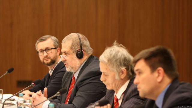 Лидеры Меджлиса крымскотатарского народа встретились с послами иностранных государств в Киеве