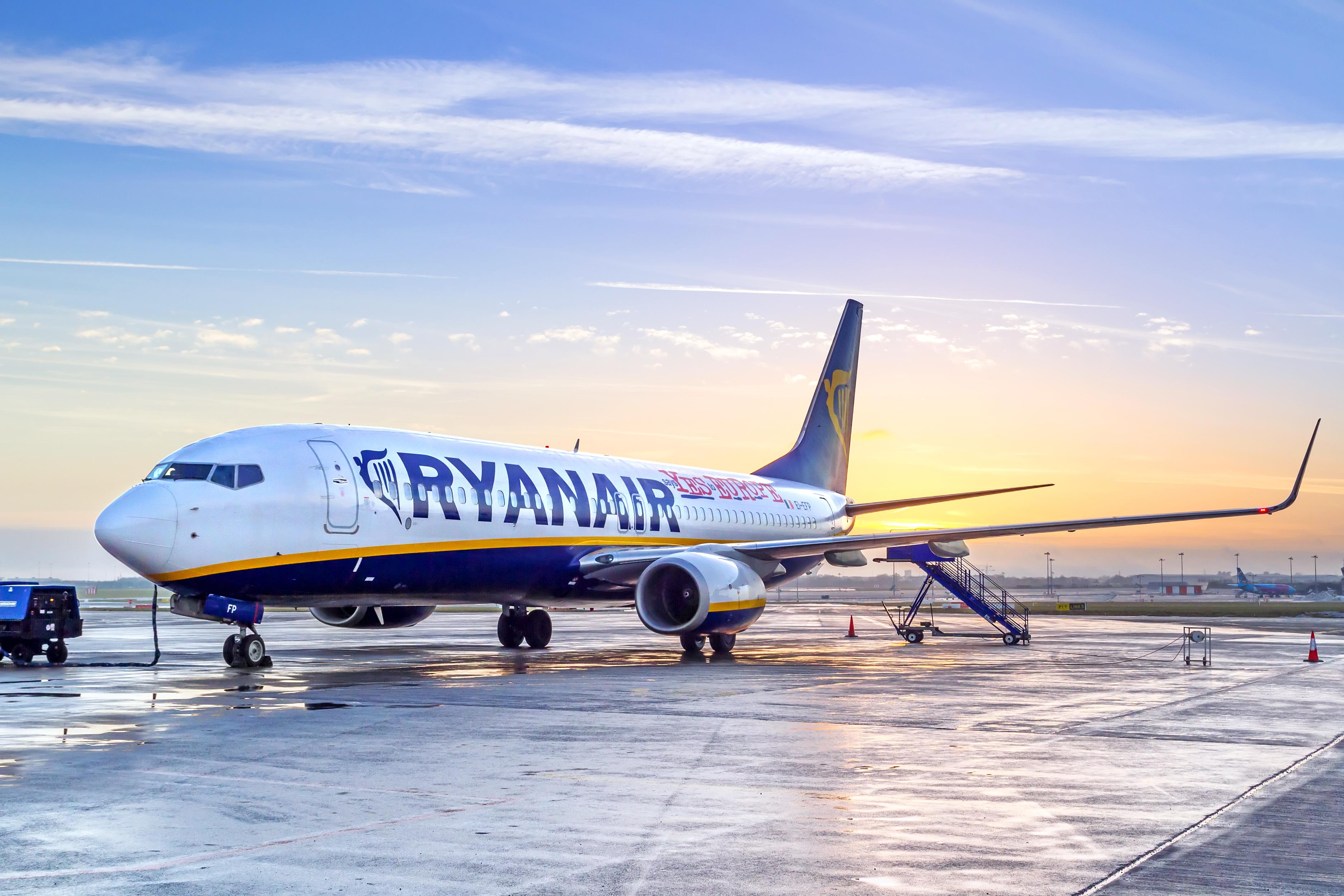 Ryanair начнет летать вЛондон надва месяца раньше