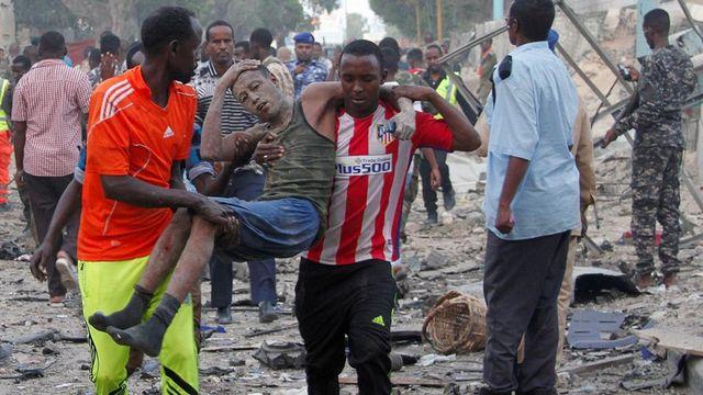 Мощнейший взрыв унёс жизни 5-ти человек вСомали