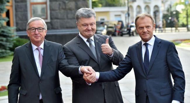 Порошенко объявил озаинтересованности вснятии антироссийских санкций
