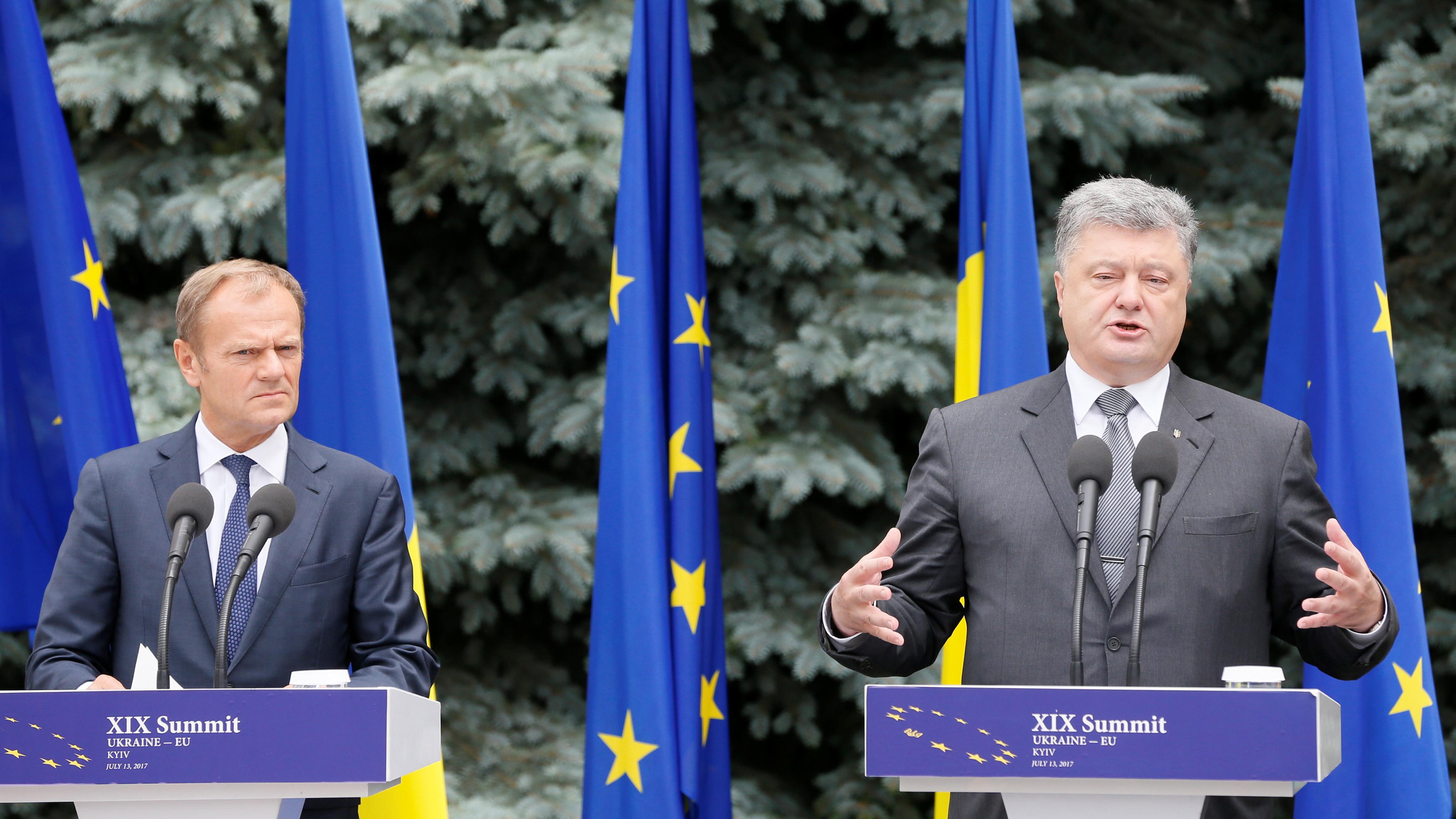 Для Украины внутренние проблемы опаснее, чем внешние,— Туск