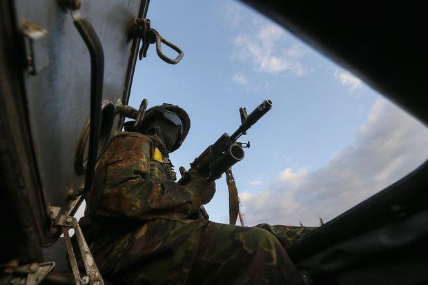 НаДонбассе был 61 обстрел— Штаб АТО