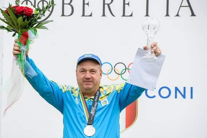 М.Мильчев завоевал серебряную награду наКубке мира постендовой стрельбе
