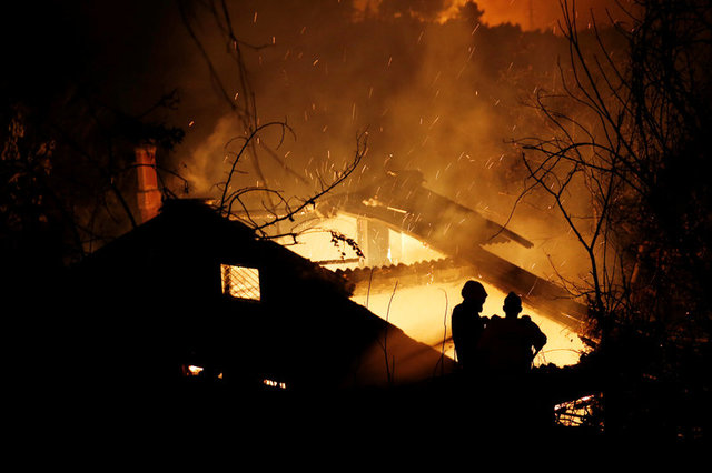 ВГреции, Португалии иФранции вновь бушует адская стихия