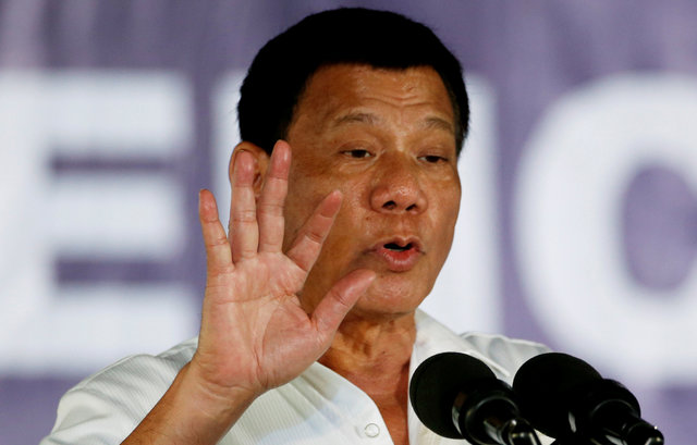 Президент Филиппин сказал овозможности введения военного положения вгосударстве