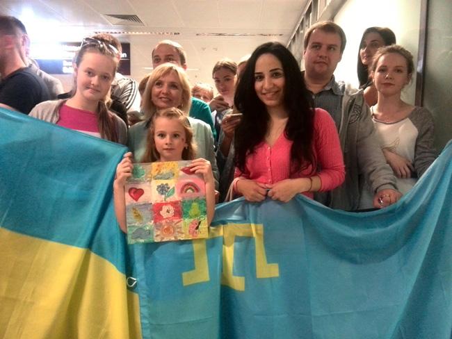Украина встретила победительницу Евровидения-2016 Джамалу