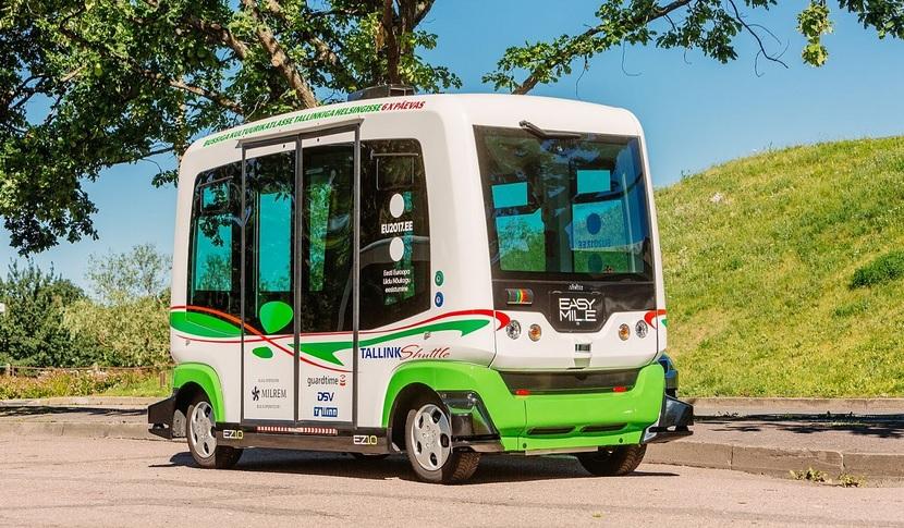 Устолиці Естонії курсуватимуть безкоштовні безпілотні автобуси