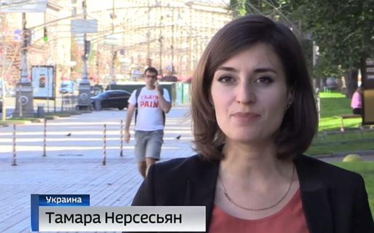 Журналистку ВГТРК выдворили сУкраины