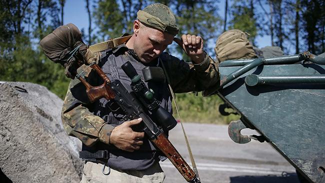 Завчерашний день ранены солдата ВСУ ипограничника