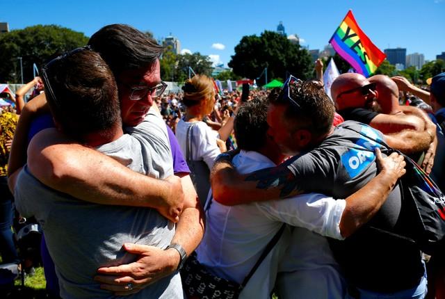Австралійці проголосували залегалізацію одностатевих шлюбів