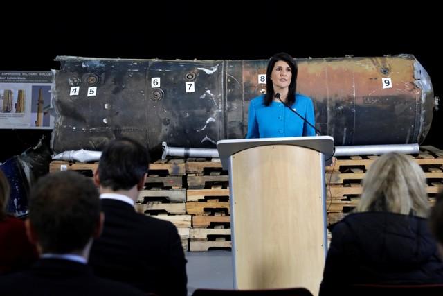 Никки Хэйли: США создают интернациональную коалицию против Ирана