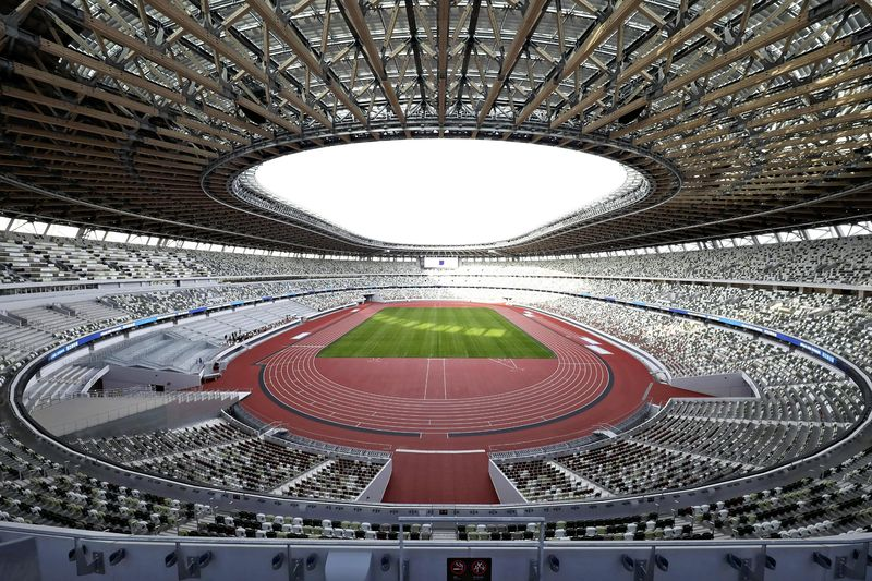 В Токио открыли пятиэтажный стадион к Олимпиаде-2020