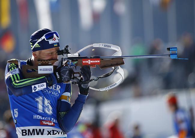 Биатлон. Чемпионат мира: Семенов неудержал бронзу в особой гонке