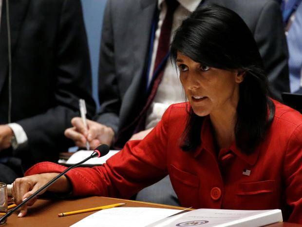 Хейли сказала , когда США объявят оновых санкциях противРФ