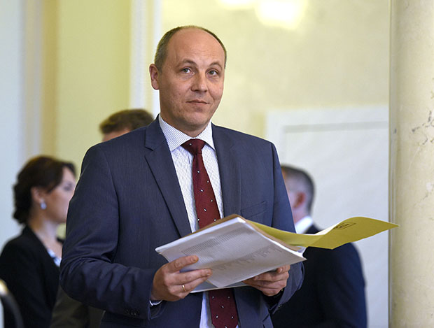 Парубий закрыл утреннее совещание Верховной Рады из-за отсутствия всенародных депутатов