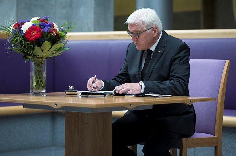 Штайнмайер предостерег Москву отвмешательства ввыборы вбундестаг