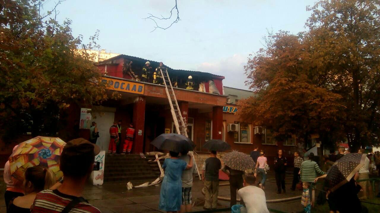 В Киеве в результате пожара в хостеле пострадали шесть человек