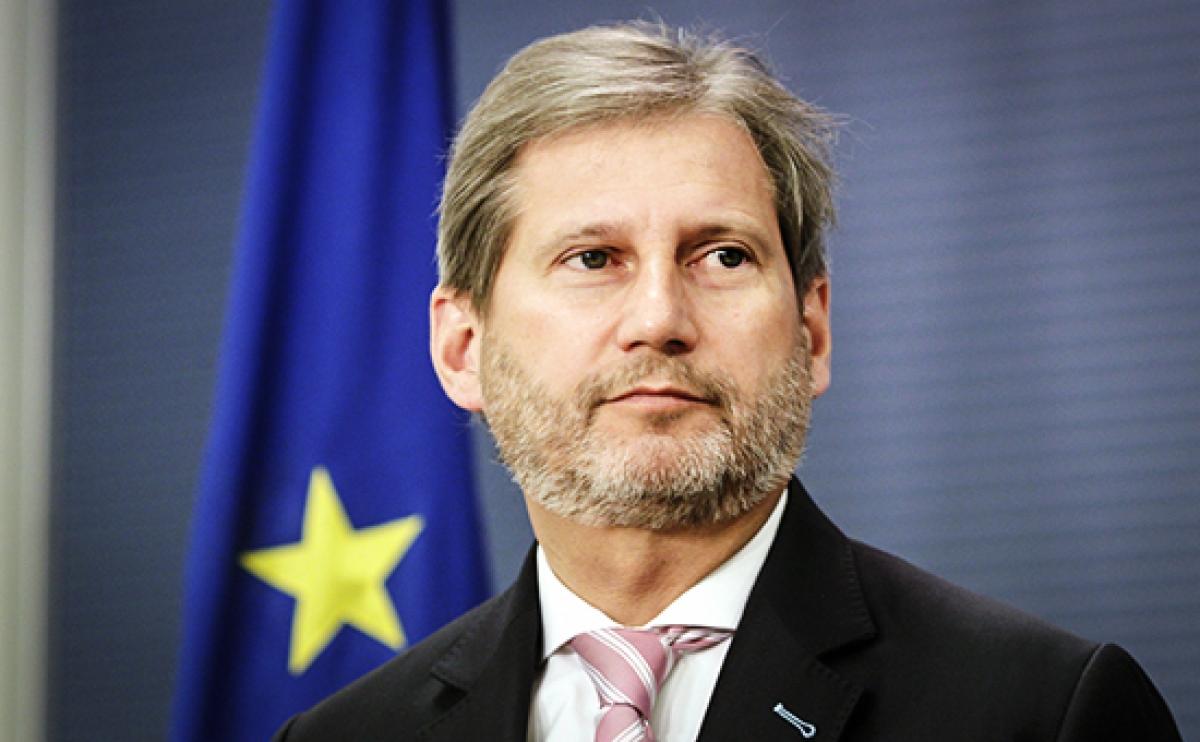 Еврокомиссар Ган поведал о подобных вызовах для Украины иЕвропы