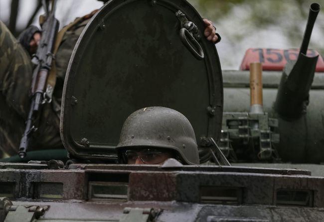Засутки взоне АТО трое военных получили ранение, один контужен