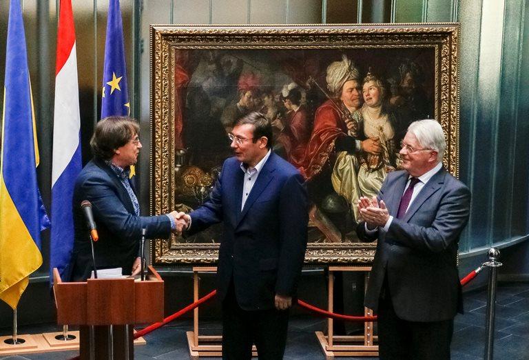 Сегодня Украина передаст Нидерландам похищенные измузея картины