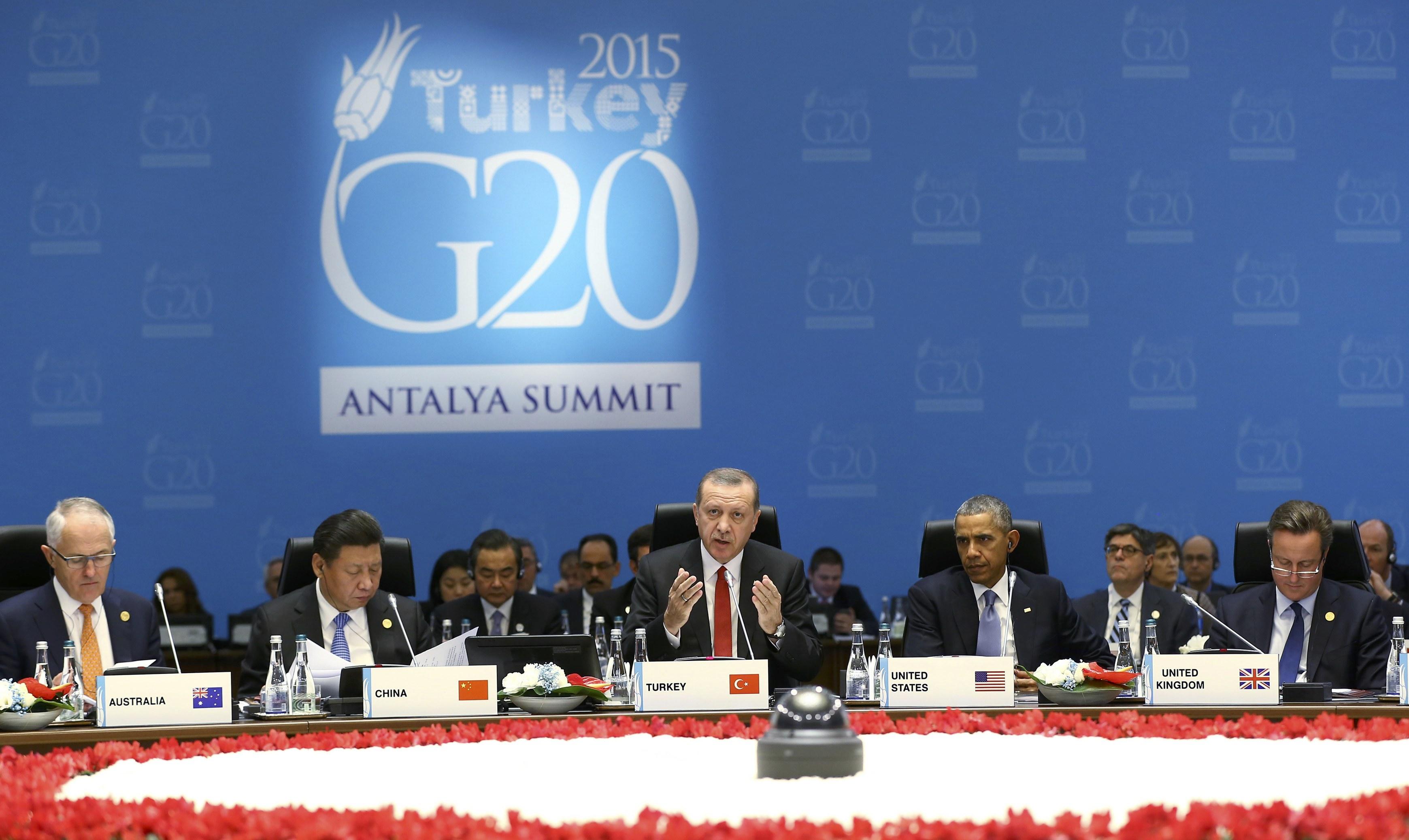 УТуреччині розпочався саміт G20