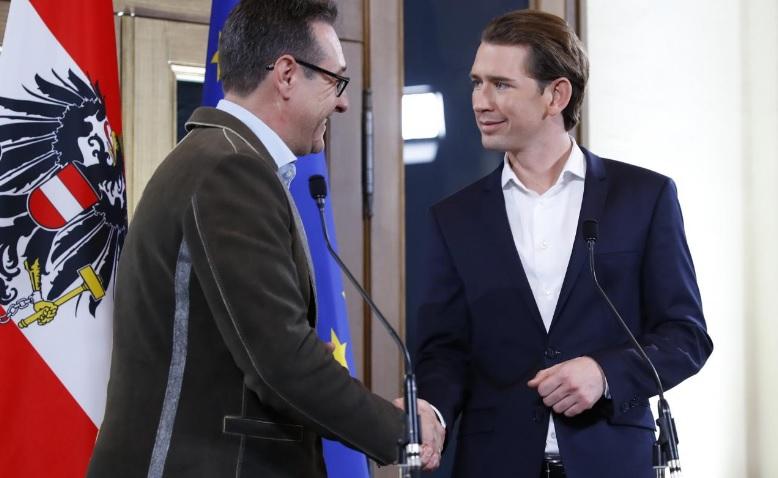Австрию на 5 лет возглавят консерваторы иультраправые