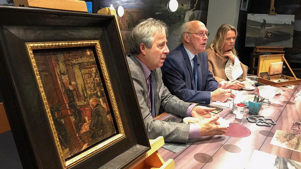 Неизвестное полотно Ван Гога передали музею вНидерландах